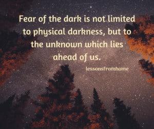 light overcomes darkness