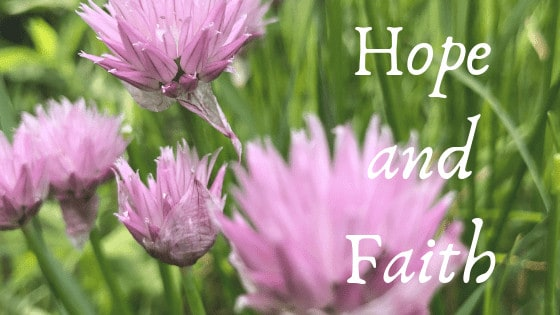 Bible verses about hope and faith