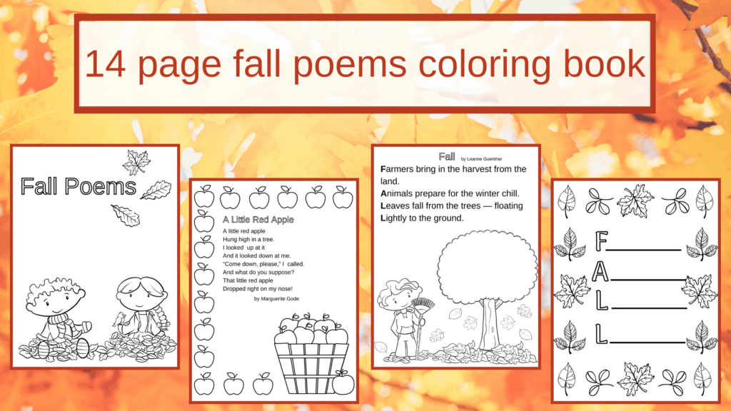 fall poems for kids