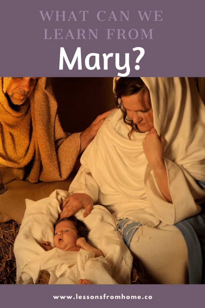 lessons from mary the mother of Jesus