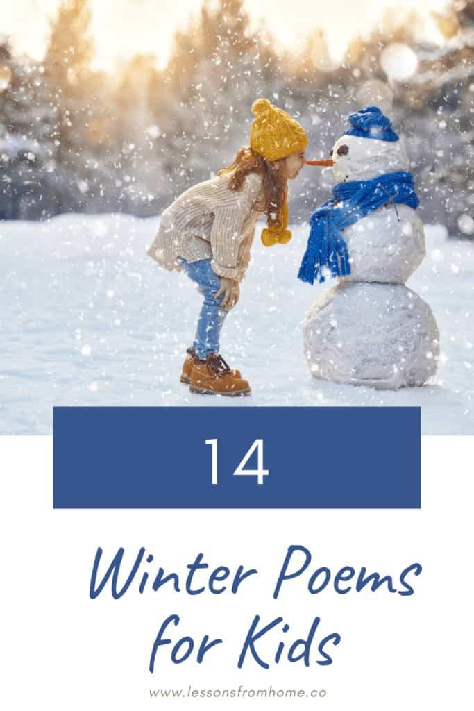witner poems for kids