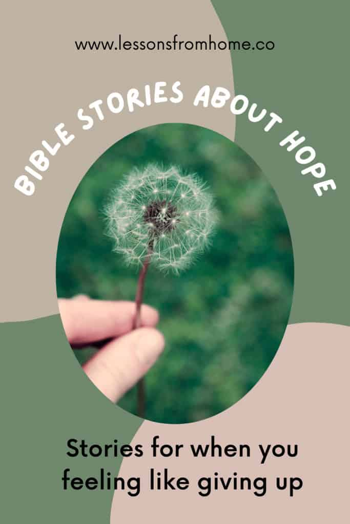 bible stories about hope