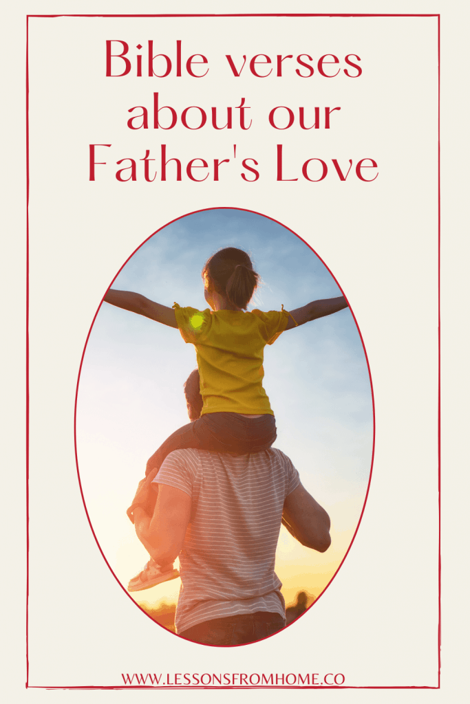 Bible verses about father's love
